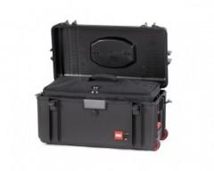 HPRC HPRC4300WBAGBLK valigia in resina leggera, stagna , indistruttibile con interno personalizzabile, completa di ruote.