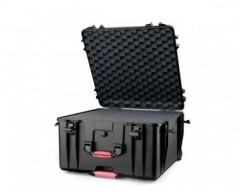 HPRC HPRC4600WCUBBLK valigia in resina leggera, stagna , indistruttibile con interno personalizzabile, completa di ruote.