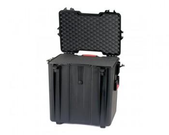 HPRC HPRC4700WCUBBBLK valigia in resina leggera, stagna , indistruttibile con interno personalizzabile, completa di ruote.
