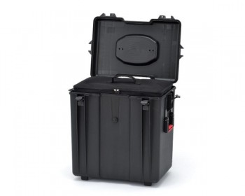 HPRC HPRC4700WBAGBLK valigia in resina leggera, stagna , indistruttibile con interno personalizzabile, completa di ruote.