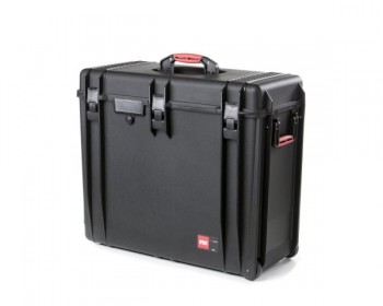 HPRC HPRC4800WEMPBLK valigia in resina leggera, stagna , indistruttibile con interno personalizzabile, completa di ruote.