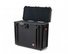 HPRC HPRC4800WCUBBLK valigia in resina leggera, stagna , indistruttibile con interno personalizzabile, completa di ruote.