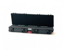 HPRC HPRC5400WCUBBLK valigia in resina leggera, stagna , indistruttibile con interno personalizzabile, completa di ruote.