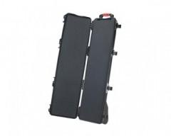 HPRC HPRC6300WCUBBLK valigia in resina leggera, stagna , indistruttibile con interno personalizzabile, completa di ruote