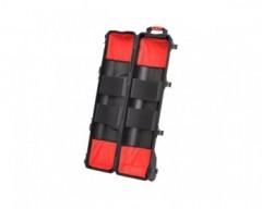 HPRC HPRC6300WTRIBLK valigia in resina leggera, stagna , indistruttibile con interno personalizzabile, completa di ruote.