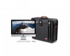 HPRC HPRCMAC4800W-01 Valigia in resina leggera, stagna e indistruttibile per un Apple iMac da 27 pollici.