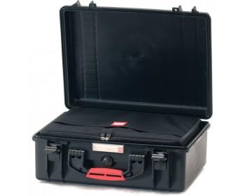 HPRC HPRC2550BAGBLK valigia in resina leggera,stagna e indistruttibile, personalizzabile e completa di ruote.