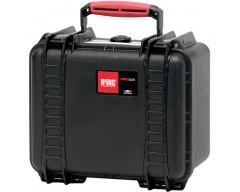 HPRC HPRC2550CUBBLK valigia in resina leggera,stagna e indistruttibile, personalizzabile e completa di ruote.