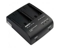 SWIT S-3602C Doppio caricatore / adattatore per batterie Canon BP-945 / 970G