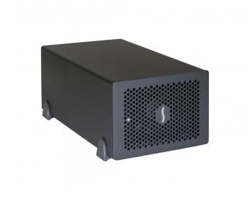 Sonnet Echo Express SE II PCIe Thunderbolt 2 Expansion Chassis aSonnet Echo Express SE II TB2 PCIe, Desktop, Black