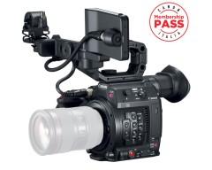 Canon Cinema EOS C200 EF Super 35mm 4K/UHD/50P MP4 o Cinema RAW Light