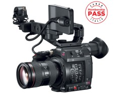 Canon Cinema EOS C200 EF Super 35mm 4K Digital Cinematography Camcorder + 24-105mm f/4.0 IS II USM Lens Kit