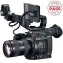 Canon Cinema EOS C200 EF Super 35mm 4K Digital Cinematography Camcorder + 24-105mm f/4.0 IS II USM Lens Kit