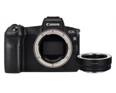 Canon EOS R 30.3MP Full-Frame Mirrorless con EF Adapter (Solo Corpo)