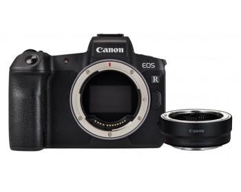 Canon EOS R Mirrorless Digital Camera + adattatore EF a RF