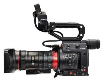 Canon EOS C200 EF Super 35mm 4K + Ottica CN-E18-80 Catalogo Prodotti