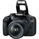 Canon EOS 2000D + obiettivo EF-S 18-55mm IS II