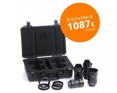 ZEISS Milvus ZE 4 - Lens Bundle con Valigia e Lens Gear in omaggio