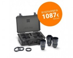 ZEISS Otus ZE Bundle con 28-55-85mm Lenses con Valigia