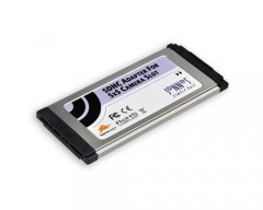Sonnet SDHC Adapter for SxS Camera Slot ExpressCard/34