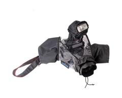 CamRade wetSuit DSLR Rain Cover per fotocamere con obiettivo collegato