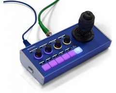 SKAARHOJ PTZ Fly controller compatto con joystick a tre assi di dimensioni standard