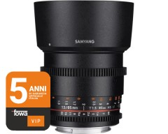 Samyang 85mm t/1.5 VDSLR AS IF UMC Canon EF Full Frame