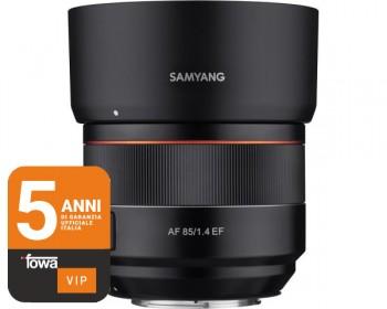 Samyang 85mm f/1.4 AF Canon EF - Full Frame Autofocus