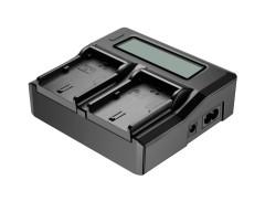 Neewer doppio LCD Caricatore per Canon LP-E6 Batterie compatibili