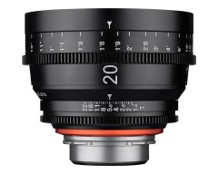 Xeen 20mm T1.9 Lens con PL Mount