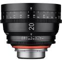 Xeen 20mm T1.9 Lens con PL Mount