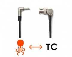 Tentacle Sync C08 Tentacle to 90° Right Angle BNC Adapter-Cable