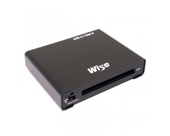 Wise CFast Card Reader - 1000 MB/s, USB 3.1 Type C, Single Slot