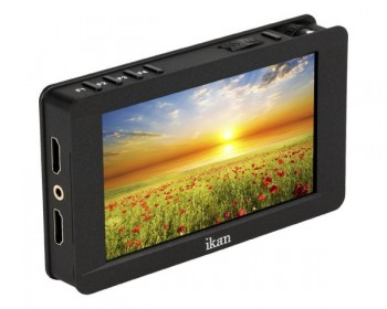 "ikan Delta 5"" On-Camera 4K HDMI Monitor con 3D LUT Support"