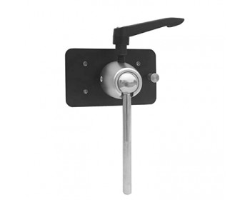 "F&V Swivel Mounting Plate with 3/8"" Pin (10 mm)"