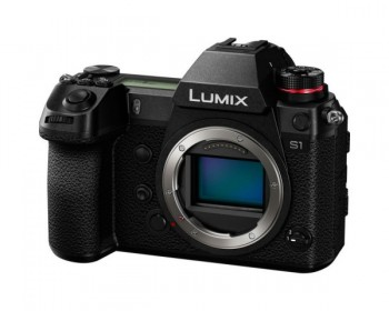 Panasonic Lumix S1 24.2MP 4K 60P Full Frame Mirrorless Compact System Camera Body Only - L Mount