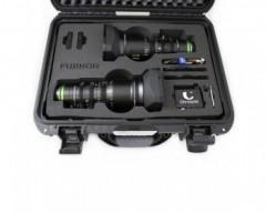 RENT / Fujinon MK 18-55mm T2.9 MK 50-135mm T2.9 Sony E Mount Cabrio Cinema and Chrosziel