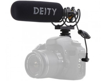 Deity Microphones V-Mic D3 Pro Supercardioid On-Camera Shotgun Microphone with Rycote Lyre Suspension
