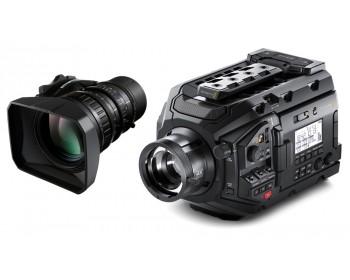 Blackmagic Design URSA Broadcast + 4K UHD Fujinon LA16x8BRM Bundle