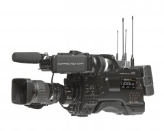 JVC GY-HC900CHE CONNECTED CAM Full HD Broadcast Camcorder with Three 2/3-inch CMOS Sensors + Canon KJ20x8.2KRSD