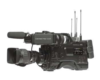 JVC GY-HC900CHE Connected Cam HD Broadcast Camcorder 2/3-inch CMOS con Canon KJ20x8.2KRSD