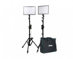 Ledgo E268CII Bi-color kit w/ light stands (2 lights w/ high output)