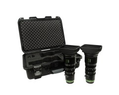 Noleggio Fujinon MK 18-55mm T2.9 MK 50-135mm T2.9 Sony E Mount Cabrio Cinema
