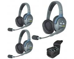 Eartec UL3D UltraLITE 3-Person Headset System