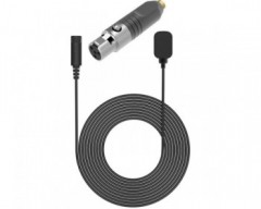 Deity Microphones W.Lav DA4 Bundle Omnidirectional Lavalier Microphone with Microdot to TA4F Adapter