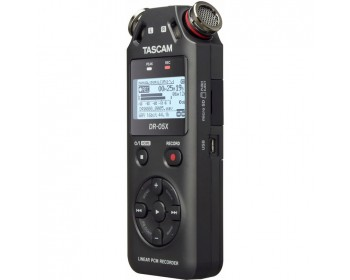 Tascam DR-05X 2-Input / 2-Track Portable Audio Recorder
