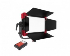 Rayzr MC100 Multi Color RGBWW Soft LED Panel light V-Mount-Bundle