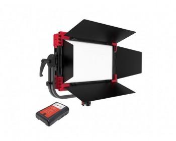 Rayzr MC100 Multi Color RGBWW Soft LED Panel light V-Mount-Bundle