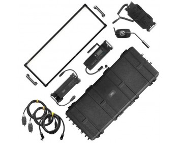 F&V EverTrue Z1200VC CTD-Soft Vari-Color 3x1 LED Panel Light Rental Kit