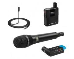 RENT / Sennheiser AVX COMBO SET 3 EU Kit RadioMicrofono Gelato + Lavalier ME-2